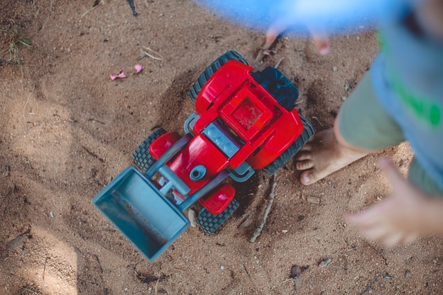 Tractor vehicle birthday gifts for 2 year old