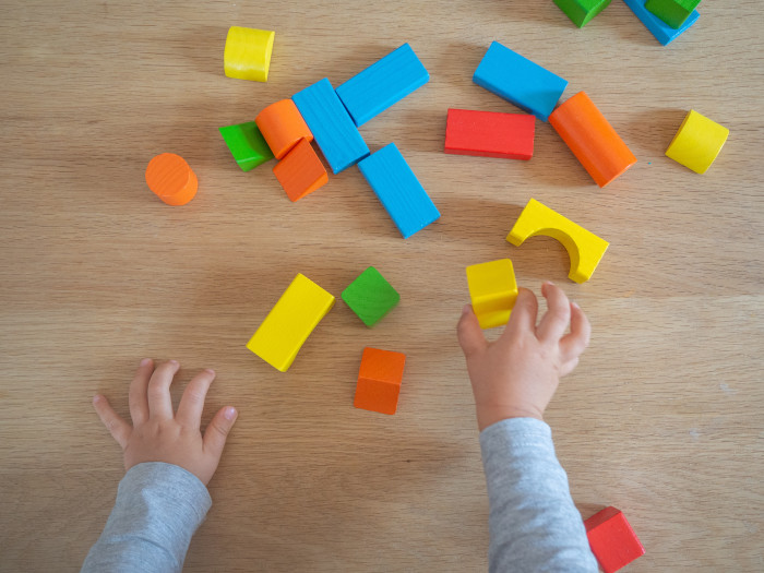 Open ended toys to complement Montessori